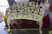 Sale 8532 - Lot 1201 - Alloy Metal Outdoor Chair