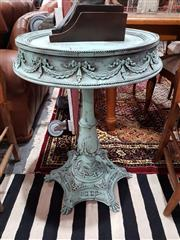 Sale 8889 - Lot 1072 - Ornate Timber Wine Table