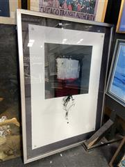 Sale 8914 - Lot 2067 - Ron Kempton - Abstract mixed media on paper, 130 x 94cm, signed