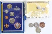 Sale 8989F - Lot 603 - 1985 Proof Coin Set With Other Coin Incl 1927 Florin