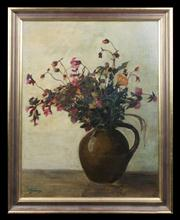 Sale 7923 - Lot 589 - Artist Unknown - Floral Study 46.5 x 38cm