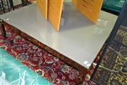 Sale 8093 - Lot 1508 - Metal Framed Coffee Table