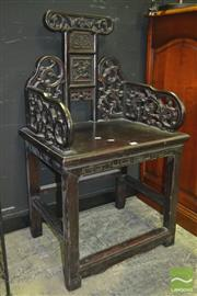 Sale 8282 - Lot 1007 - Chinese Alter Chair