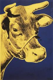 Sale 8652A - Lot 5049 - Andy Warhol (1928 - 1987) - Cow 61 x 40.5cm (frame: 90 x 68cm)