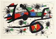 Sale 8732A - Lot 5088 - Joan Miro - (Untitled) 48.5 x 71cm