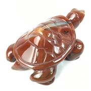 Sale 8758 - Lot 355 - Agate Carved Tortoise