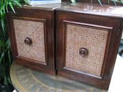 Sale 7969A - Lot 1071 - Pair of Bedside Cabinets