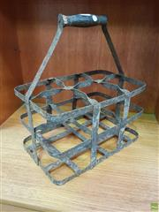 Sale 8625 - Lot 1063 - French Bottle Carrier