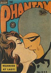 Sale 8822A - Lot 5069 - The Phantom - Married at Last! 24 x 17cm