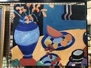 Sale 8819 - Lot 2013 - Artist Unknown, Summer Still Life #2, 2009, acrylic on canvas, 51 x 61cm, signed lower right