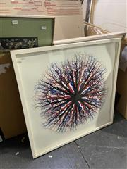 Sale 9008 - Lot 2068 - MacDonald & Subritzky Rosette, 2007 Off-set lithograph, ed. 3/10, frame: 77 x 77 cm, signed lower right