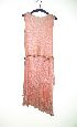 Sale 3741 - Lot 348 - A 1920s pink lace dress