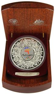 Sale 8057 - Lot 3 - Australian Silver 999 Standard Sydney 2000 Olympic Proof Coin