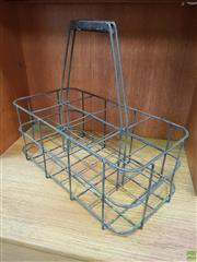 Sale 8625 - Lot 1064 - French Bottle Carrier