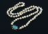 Sale 3750 - Lot 101 - A SEMI-BAROQUE PEARL NECKLACE FEATURING AN OPAL SET IN 9CT GOLD.