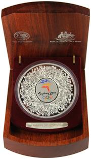 Sale 8057 - Lot 4 - Australian Silver 999 Standard Sydney 2000 Olympic Proof Coin