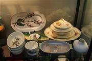 Sale 8296 - Lot 96 - Royal Doulton Orchid Tablewares with Other Ceramics incl. Villeroy & Bouch