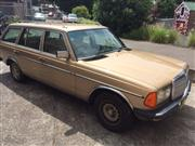 Sale 8332B - Lot 8 - Mercedes Benz 230TE station wagon 7 seater Australian complied 1985CHASSIS:	WDB1232832F053808
