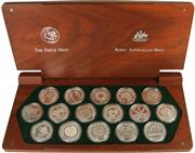 Sale 8057 - Lot 5 - Australian Silver 999 Standard Sydney 2000 Olympic Proof Coin Set