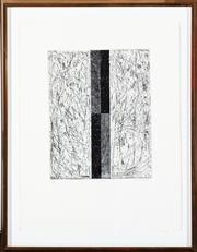 Sale 8782A - Lot 121 - D W Balduc, (Canadian) untitled, engraving  10/10 signed lower right Nov 8 /82  70 x 54cm