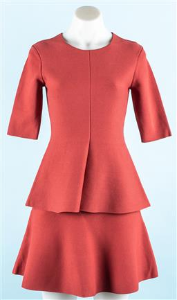 Sale 9091F - Lot 13 - A WITCHERY MILANO two piece set comprising a peplum top and skirt, (new with tags ) Size xxs