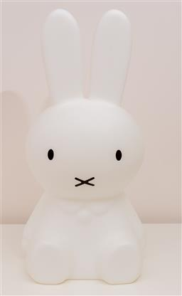 Sale 9150H - Lot 177 - A Mister Maria design large Miffy lamp with international plug, height 52cm