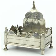 Sale 8314A - Lot 40 - Silver Plated 18th Century Shrine