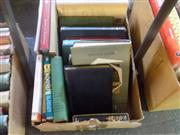 Sale 8407T - Lot 2350 - Box of Various Books incl. Sitwell, O. Escape with Me; Belloc, H. Esto Perpetua Algerian Studies & Impressions; Selby, B. Ridin...