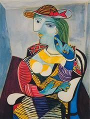 Sale 9080A - Lot 5052 - Pablo Picasso (1881 - 1973) - Portrait of Marie Therese Walter 33 x 23 cm (sheet: 43 x 30 cm)