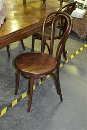 Sale 8019 - Lot 1026 - Set of 4 Bentwood Chairs (light brown)