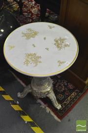 Sale 8380 - Lot 1041 - German Plaue Porcelain Wine Table