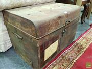 Sale 8545 - Lot 1039 - Tin Trunk