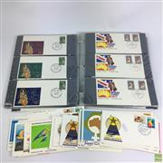 Sale 8648A - Lot 105 - Album And Other First Day Covers