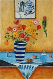 Sale 8992A - Lot 5001 - Stanley Perl (1942 - ) - Poppies In Bloom 76 x 51 cm (total: 76 x 51 x 4 cm)
