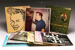 Sale 9136 - Lot 90 - A collection of Mostly Jazz LP records including Mel Torme & Billie Holiday