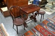Sale 8019 - Lot 1100 - Pair of Bentwood Chairs (Brown)