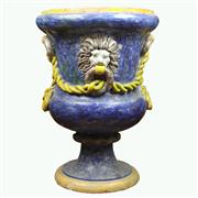 Sale 8314 - Lot 27 - Continental Painted Jardiniere