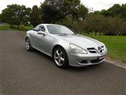 Sale 8332B - Lot 4 - MERCEDES Benz SLK200 ( hard top ) convertible Australian complied 11/2005