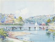 Sale 8484 - Lot 505 - Herbert Cotton (1872 - 1931) - Mosman Bay, 1910 21 x 27cm