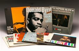 Sale 9136 - Lot 7 - A collection of mostly jazz Lp records including Memphis Slim And Donald Byrd