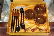 Sale 8217 - Lot 161 - Chinese Boxed Food Set