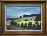 Sale 8325A - Lot 200 - William Crozier (1930 - 2011) - View from Kurrajong 23 x 33cm