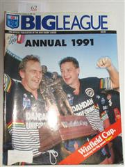 Sale 8404S - Lot 62 - 1991 Big League Annual Magazine, showing Penrith on front cover