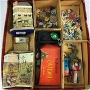 Sale 8648A - Lot 179 - Collection Of Vintage Wares Including Pennies, Badges & Toys
