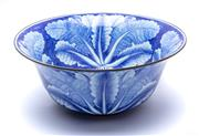 Sale 9087H - Lot 308 - Large blue and white salad bowl