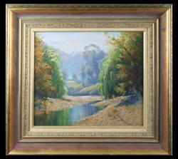 Sale 7923 - Lot 501 - Dixon Copes - Landscape 37 x 45cm