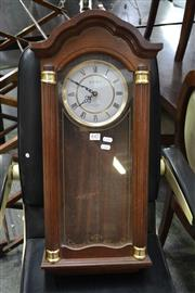 Sale 8127 - Lot 847 - Timber Cased Clock