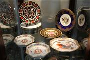 Sale 8379 - Lot 149 - Royal Crown Derby Old Imari Cabinet Plate with Other Ceramics incl. Mottahedeh