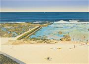 Sale 8522 - Lot 2003 - John Earle (1955 - ) - Bar Beach, 1988 50.5 x 69.5cm