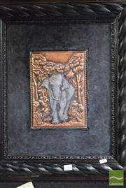 Sale 8518 - Lot 2094 - Copper Elephant Art